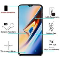 For OnePlus 6T Premium Shockproof Tempered Glass Screen Protector Guard Clear 9H