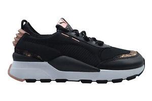 Puma RS 0 Frosted Womens black gold peach beige Sneaker schwarz 368349 01