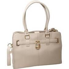 NWT Calvin Klein MODENA  H2GAA800 Tote Handbag Purse Leather WHITE