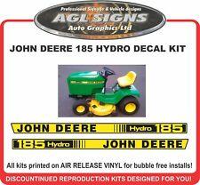 JOHN DEERE 185 Hydro Replacement Decal Kit  175