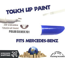 POLAR SILVER 761 TOUCH UP PEN REPAIR COLOR PAINT CODE 761 FOR MERCEDES-BENZ