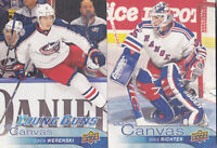 16-17 Upper Deck Mike Richter UD Canvas Retired Stars NY Rangers 2016