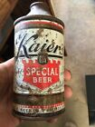 KAIERS MAHANOY CITY PA CONE TOP BEER CAN PA PENNSYLVANIA PENNA ADVERTISING