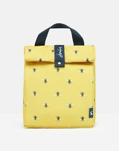 Joules Home Roll Top Bag - Gold Bees - One Size