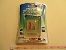 Canon NB-4L Digipower rechargeable Battery - brand new sealed in package