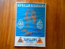 Great vintage original 1960's 13th Floor Elevators Sf rock concert poster