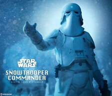 STAR WARS EPISODE V: ESB~SNOWTROOPER COMMANDER~SIXTH SCALE FIGURE~SIDESHOW~MIB