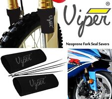 "Viper Neoprene Motorcycle Fork Gaiter Boot Seal Socks Covers Protector 5¾ "" Long"