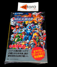 GUIA ROCKMAN X2 MEGAMAN Super Famicom SNES STRATEGY GUIDE BOOK JAP