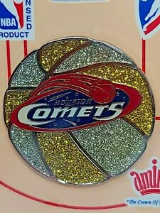 WNBA Houston Comets Basketball Lapel Pin  - NBA Official Licensed