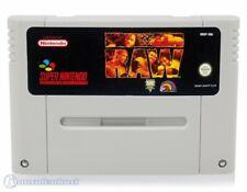 Nintendo SNES Spiel - WWF: Raw Modul