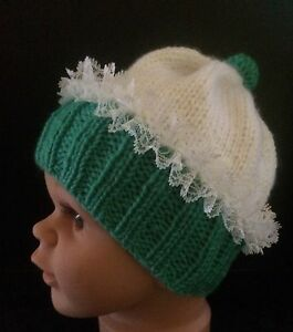 Novelty Baby & Toddlers Hand Knitted Cupcake Beanies