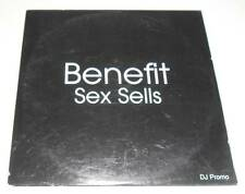 BENEFIT - SEX SELLS - 2001 UK 1 TRACK DJ CD PROMO SINGLE IN CARD SLEEVE