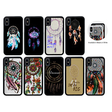 Protective Rubber Case for iPhone 5s SE 6s 7 8 PLUS X XR XS Max / DREAM CATCHER