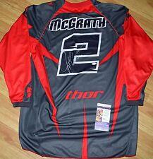 Jeremy McGRATH Thor #2 Jersey XL - JSA - SX MX Carmichael - Dungey