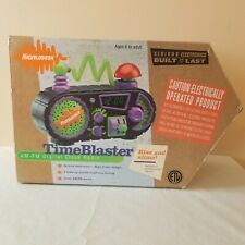 Nickelodeon - Time Blaster Alarm Clock - Excellent Condition - Brand New