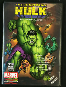 THE INCREDIBLE HULK COMPLETE COLLECTION DVD-ROM