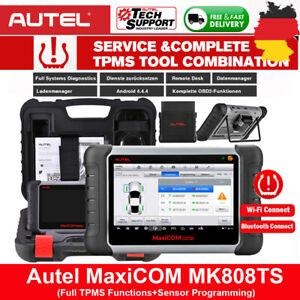 2021 Autel MK808TS Pro KFZ Diagnosegerät Auto OBD2 Scanner TPMS RDKS Bluetooth