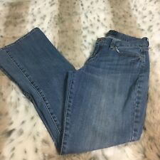 Lucky Brand Jeans Sofia Boot Size 4 27 Regular Medium Wash