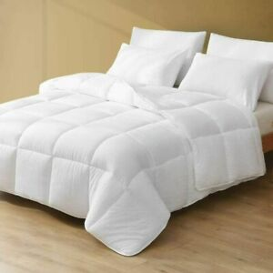WHITE Royal Luxe FULL/QUEEN Lightweight Down Microfiber Comforter - Macy's