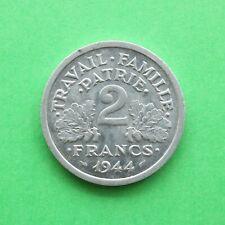 1944B France 2 Franc SNo55451