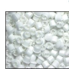 8 pack 1/4 inch white Plastic Hole plugs . Cars , Boats , Projects Appliances ,