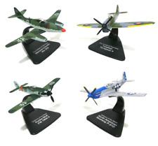 Lot 4 avions WW2 1/72 Atlas Focke Hawker Messerschmitt Mustang- MODEL AIRCRAFT
