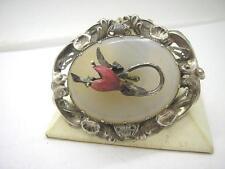 Agate Silver Brooch/Pin Vintage Fine Jewellery