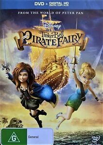 Tinker Bell And the Pirate Fairy (DVD, 2014, R4) - Used Good Condition