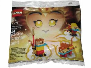 LEGO Exclusive Monkie Kid Build Your Own Monkey King Polybag 40474 New & Sealed