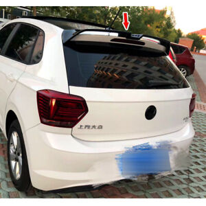 Painted Color For Volkswagen VW POLO AW MK6 O Type Rear Trunk Spoiler 2020