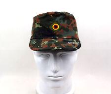 Military German Army Flecktarn Camo Camouflage Field Cap Hat
