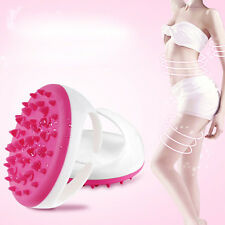 Handheld Bath Shower Body Anti Cellulite Massager Brush Glove Full Body