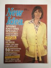 Vintage New Idea August 1974 Spring Knitting Special
