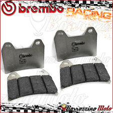 4 PLAQUETTES FREIN AVANT BREMBO CARBON RACING SACHS MADASS 500 2008