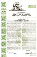 State of Georgia - Bond