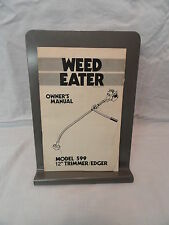 "Weed Eater 12"" Trimmer/Edger Model 599 Owner's Manual"