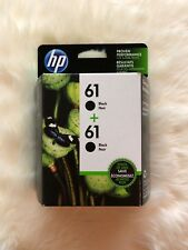 HP GENUINE COMBO PACK 61 BLACK TWIN PACKS INK (RETAIL BOX) 03/2019