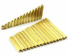400 Pieces Brass M2*5mm Female to Female PCB Motherboard Standoff Spacer