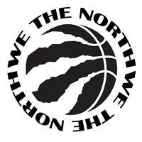MTech -We The North Toronto 2019 Raptors NBA Basketball Beautiful Decal Sticker