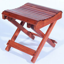 Solid Rosewood Folding Stool Portable Bench Home Outdoor Camping Fishing Chair