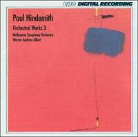 Paul Hindemith: Orchestral Works, Vol. 3, New Music