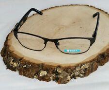 New Roxy Lea Eyeglasses Frames Gunmetal and Stripes  50-17-135
