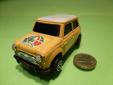 VINTAGE MORRIS MINI COOPER - RAINBOW YELLOW 1:32? RHD- RARE - GOOD CONDITION