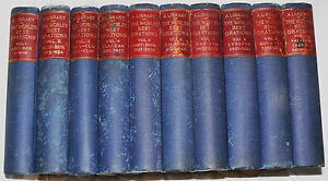 The World's Best Orations - David J. Brewer 10 vols. 1900 Home & School Library