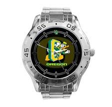 Oregon Ducks NCAA Stainless Steel Analogue Men's Watch Gift