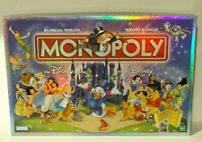 Monopoly THE DISNEY EDITION board game 2001 BILINGUAL Canadian COMPLETE