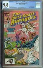 West Coast Avengers #31 CGC 9.8 Moon Knight