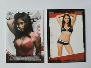 Arianny Celeste Lot 2010 Leaf Rookie And 2010 Topps Round 4