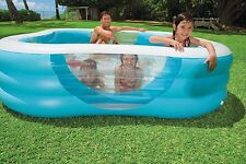 INTEX nuota CENTER FAMILY POOL con quattro finestre 57495